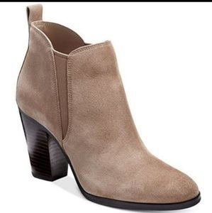 Michael Kors Shoes - MICHAEL Michael Kors Brandy Suede Ankle Bootie 7.5